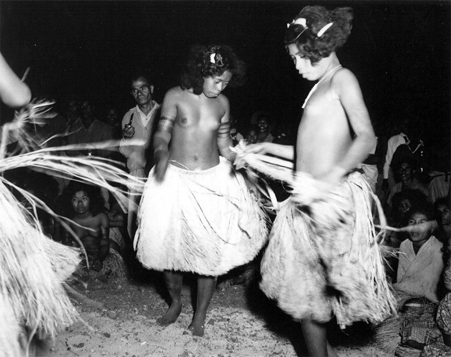 Dancers — New Guinea